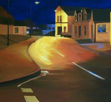 'Round Midnight | 51 x 102 cm