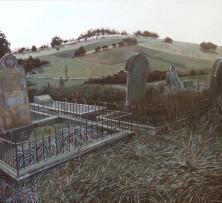 Light Behind Hill | 50 x 70 cm