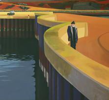 Harbour Master | 51 x 82.5 cm