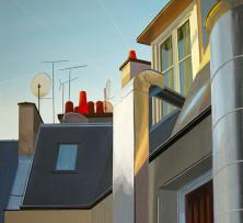 Paris Morning | 61 x 61 cm