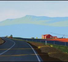 Bricknell's Corner (Tasmania) | 93 x 150 cm | 2014 Tattersall's Landscape Art Prize Finalist