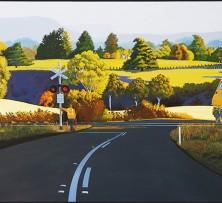 Stop in Autumn | 88 x 143 cm | Winner 2013 Tattersall's Landscape Art Prize Members' Choice