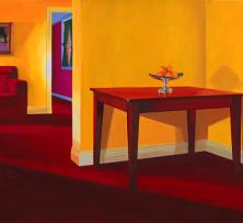 Interior with Oranges | 76.5 x 124 cm